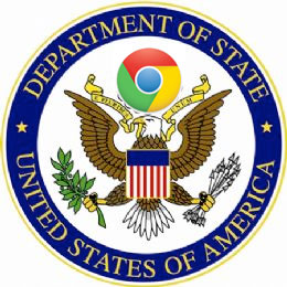 US state dept - chrome