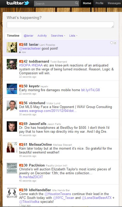 scores Three Google Chrome extensions for those obsessed with Klout scores