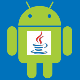 Android and Java logos