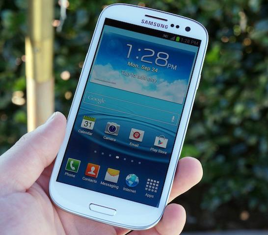 Samsung Galaxy S III Marble White