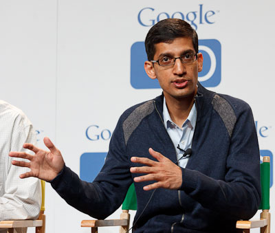 Sundar Pichai, SVP of Chrome