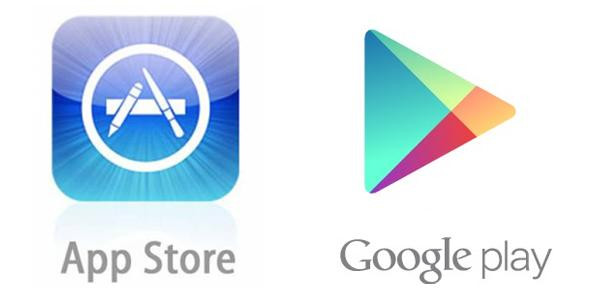 google vs apple app store