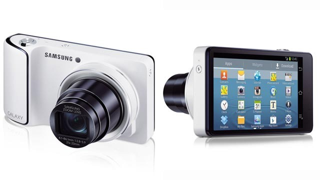 PHOTO: Samsung's Galaxy Camera brings the connectivity and sharing features of Android to a point-and-shoot camera.
