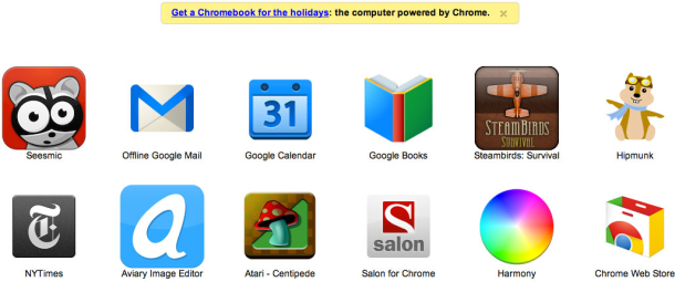 Google has begun adding its own ads to Chromes new-tab page.