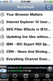 Chrome Sync Pro for iPhone 4S