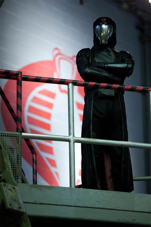 New G.I. Joe: Retaliation Image Puts Cobra Commander on Watch