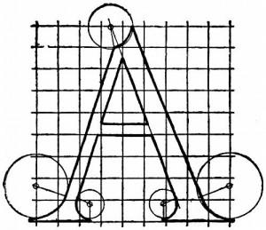 001 Alphabet After Serlio letterA q75 500x432 300x259 My Google Chrome Alphabet