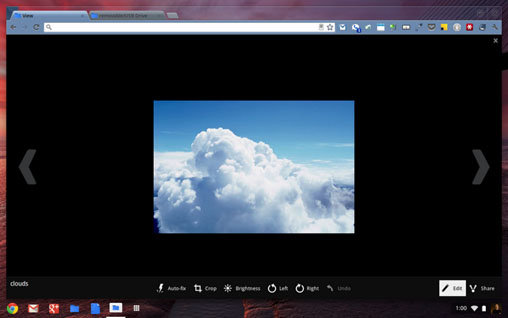 Chrome OS Image Editor