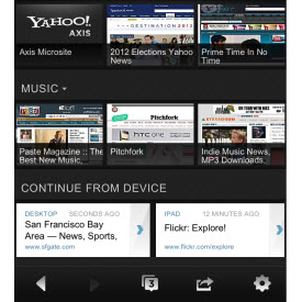 Yahoo! Axis: A New Way to Search