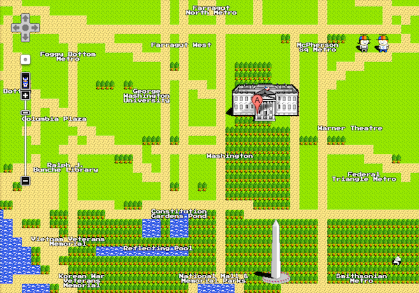 google-8-bit-maps-white-house