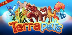 terrapets 300x146 Terrapets   a Beta Android App Game that Merges Pokemon and Farmville