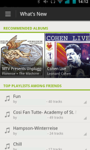 Spotify's New Android App Available for Preview