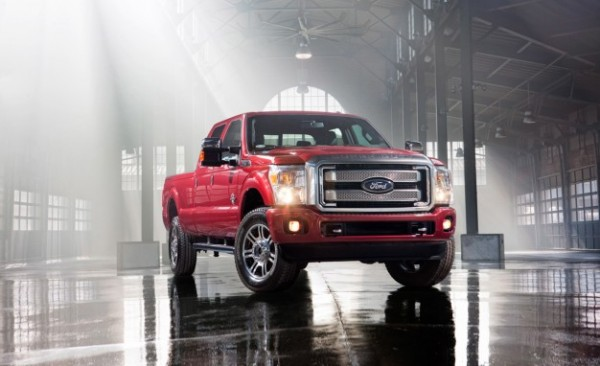 2013 Ford F-Series Super Duty Platinum Pickup Truck Unveiled