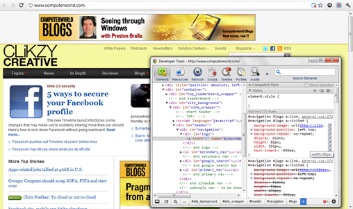 Chrome Developer Tools