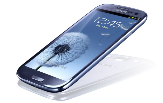 The Samsung Galaxy S3 smartphone - the next version could have a radical news 'bendy' screen, according to rumours
