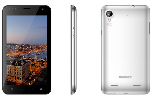Hands on: The 5.9-inch Android smartphone 'Karbonn A30'