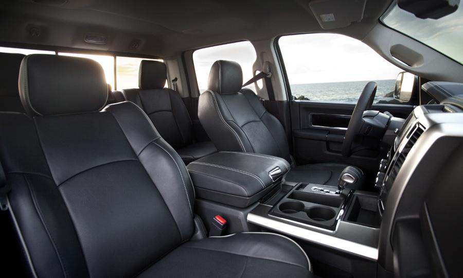 The Limited gets full leather seating Photo by: Ram