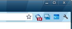 Google Reader Notifier button