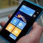 Nokia Lumia 900, which runs the Windows 7 operating system