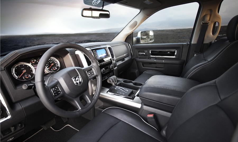 The interior features contrasting piping Photo by: Ram