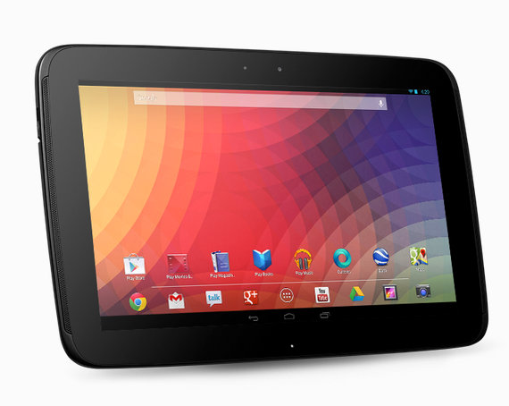 Google Nexus 10 (Samsung) vs iPad 4: Tablet Price Online Shows Difference