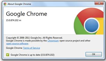 Chrome 15