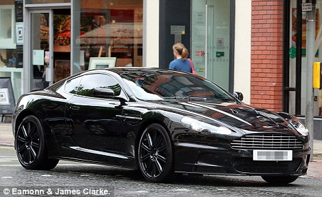 Pre-bling: How Jermaine's Aston Martin looked before the makeover