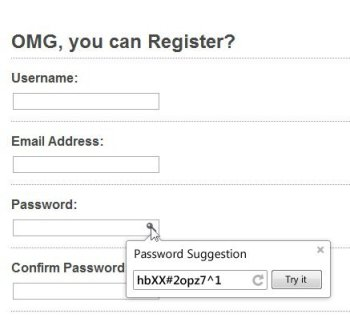Google Working on Password Generator for Chrome