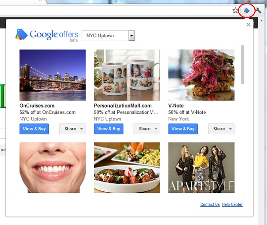 google offers, google, chrome, daily deal media