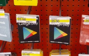 Google Play Gift Card Redemption Page Live In The UK