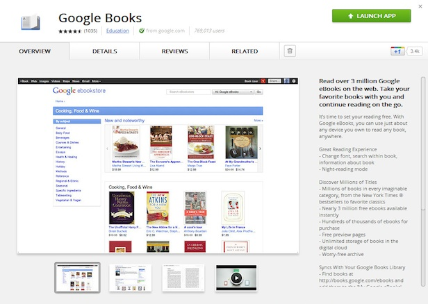 Google Books App