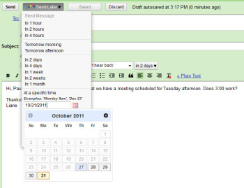 Boomerang for Gmail screenshot