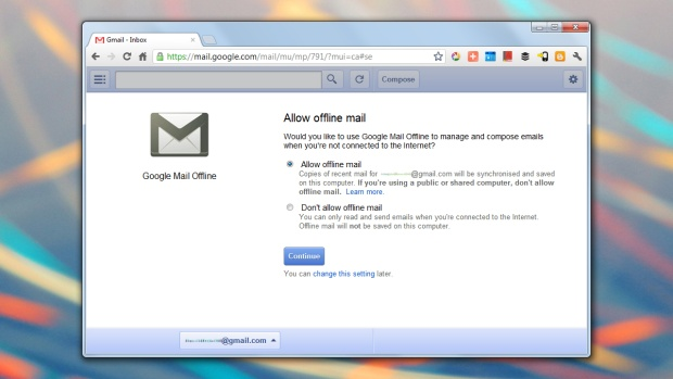 50 essential Chrome tips: offline Gmail