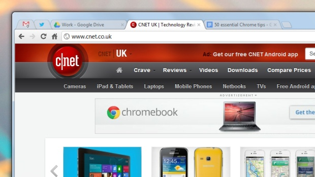 50 essential Chrome tips: pinned tabs