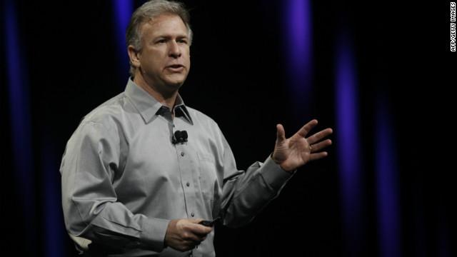 Apple senior vice president for marketing Phil Schiller. He's no longer an Instagram fan, apparently.