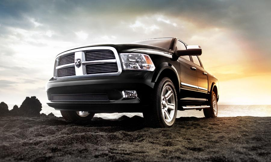 The Laramie Limited is offered in six colors Photo by: Ram