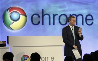 Chrome remains a priority for Google Executive Chairman Eric Schmidt (above) and top company executives. AP
