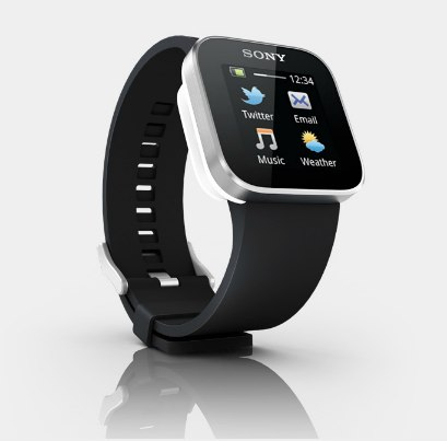 Sonys SmartWatch works with Android smartphones.
