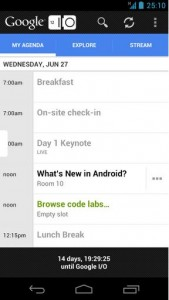 Google Developers Live debuts along with Google IO 2012 app