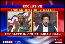 Charges against Saeed must be first proved: Imran Khan